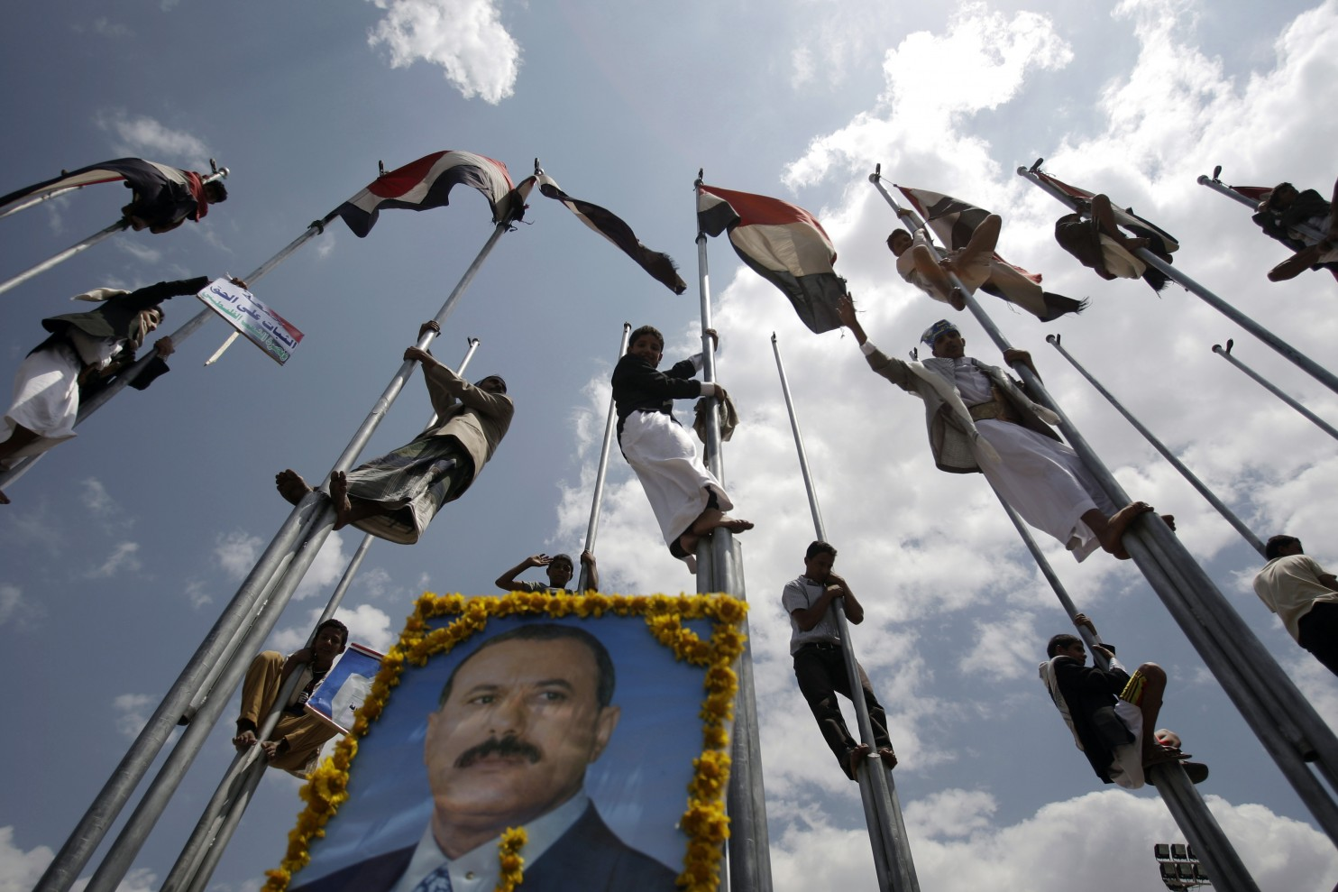 A key player in Yemen's political chaos? A strongman ousted in 2012.